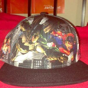 DC comics 360 pic snapback. Justice League